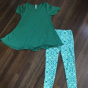 LuLaRue Green Outfit